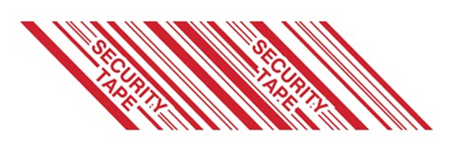 2x110yds Security Tape Tamper Evident