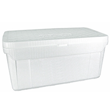 30x12x12 75 Quart Tough Guy 5390 Foam Cooler