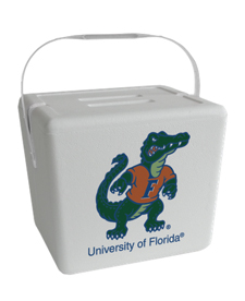 University of Florida Gator Foam Cooler with a $475 order