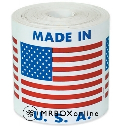 2x2 Made in USA Labels