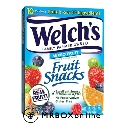 Welchs Fruit Snacks with a $325 order