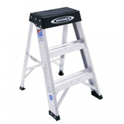 2 ft. Aluminum Step Ladder with 300 lb. Load