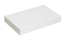 19x12x13 White Apparel Boxes