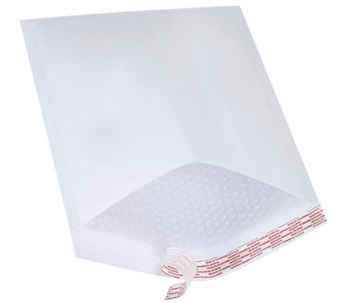 7.25x12 White Bubble Mailers Envelopes