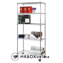 Sandusky Heavy Duty 5 Level Mobile Rack