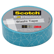 3M Scotch Expressions Washi Tape Cracked