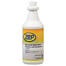 Zep Toilet Bowl Cleaner Non Acid 1qt