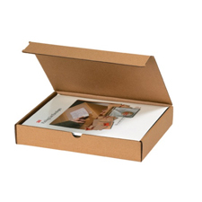 Brown Die Cut Mailer Boxes