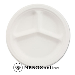 Chinet Paper Plates 3-Compartment