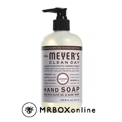 Mrs.Meyers Laveder soap with a $475 order