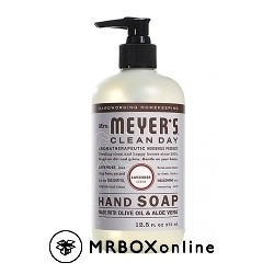 Mrs.Meyers Olive Oil & Aloe Vera Hand soap with a $475 order