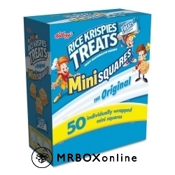 Kellogg\'s Rice Krispies Treats Mini Squares