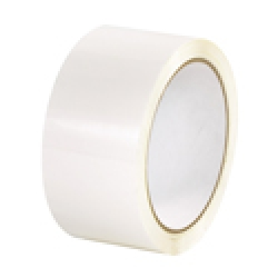 2x110yds White Plastic Box Tape